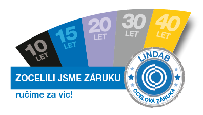 <strong>Záruky Lindab</strong>